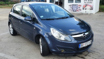 Rent a Car Beograd - Opel Corsa D - Central