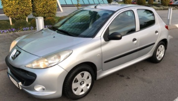 Rent a Car Beograd - Peugeot 206 plus - Central